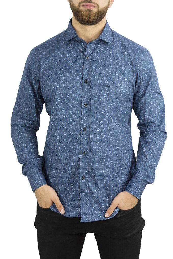 Camisa de la marca Passaport Azul Marino