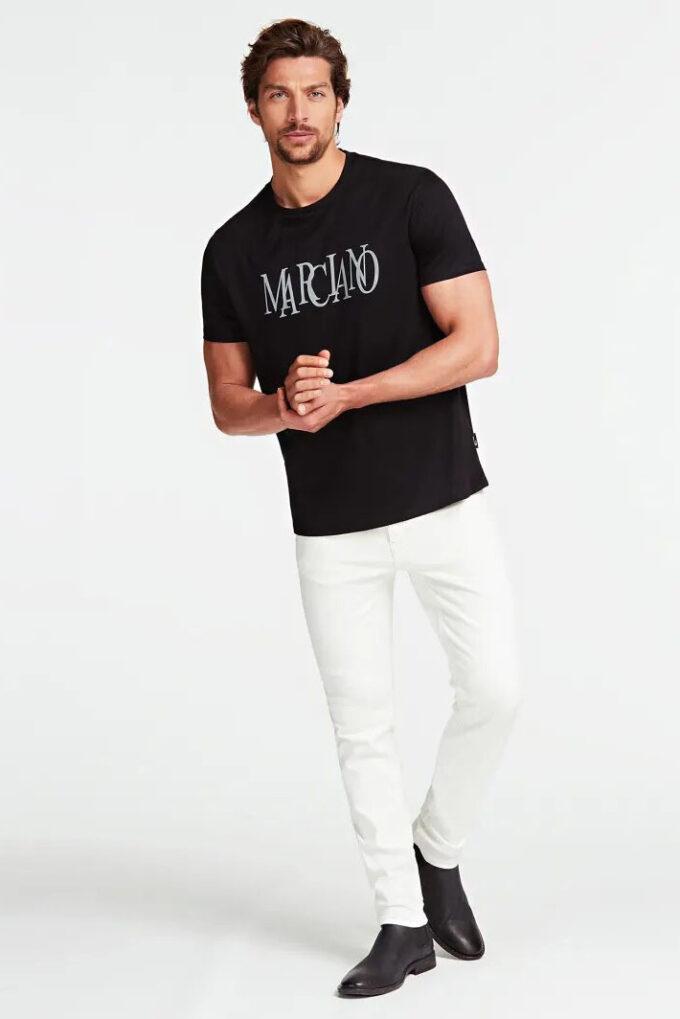 Pantalón de la marca Marciano Blanco