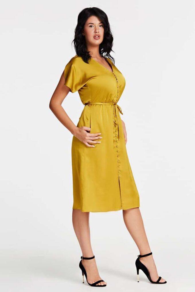Vestido de la marca Marciano Dorado