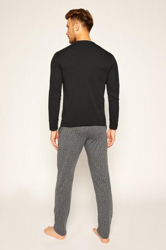 Pijama de la marca EA Underwear Gris