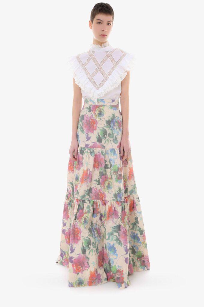 Falda de la marca Pinko Estampado