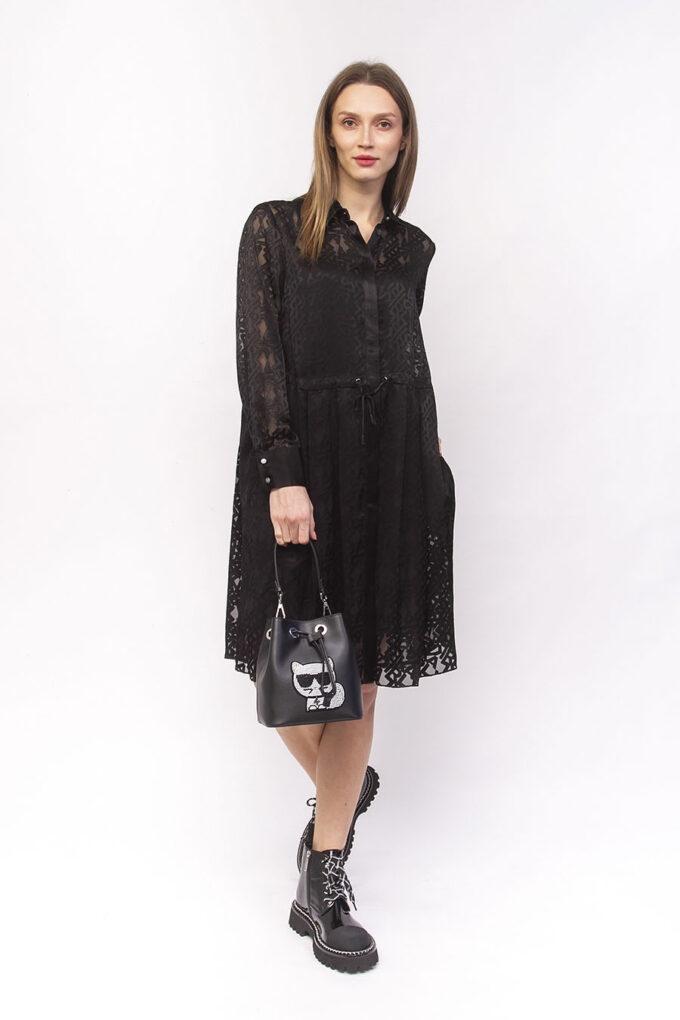 Vestido de la marca Karl Lagerfeld Negro