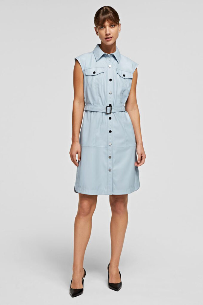 Vestido de la marca Karl Lagerfeld Azul