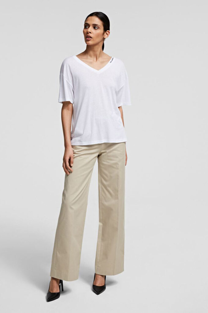 Camiseta de la marca Karl Lagerfeld Blanco