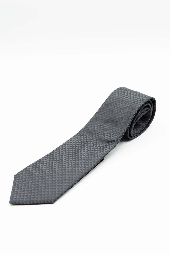 Corbata de la marca Emporio Armani Gris