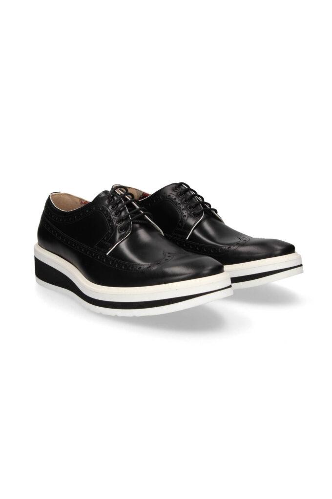 Zapatos de la marca Ángel Infantes Negro