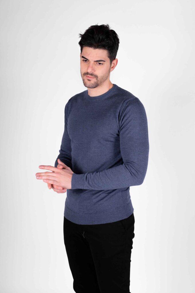 Suéter de la marca Woolgroup Azul