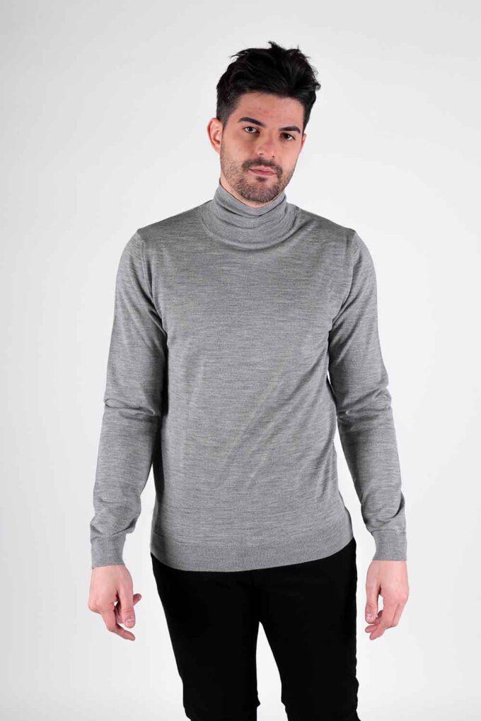 Suéter de la marca Woolgroup Gris