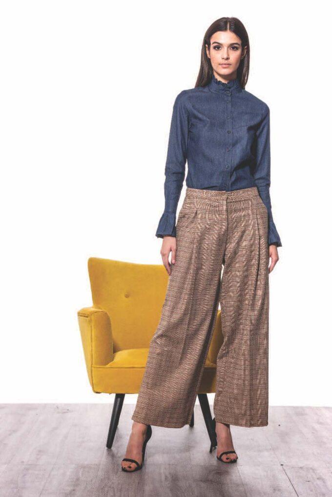 Pantalón de la marca QGuapa Milano Beige