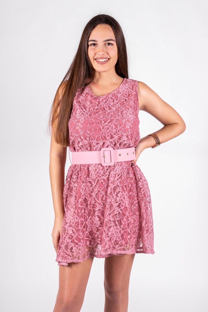 Vestido de la marca QGuapa Milano Rosa