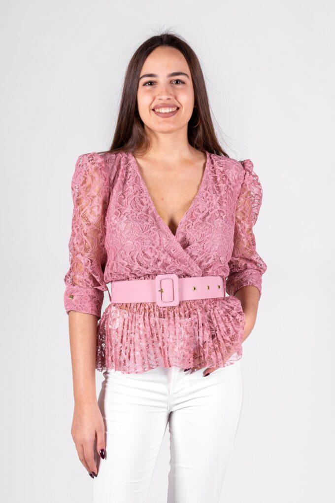 Camisa de la marca QGuapa Milano Rosa