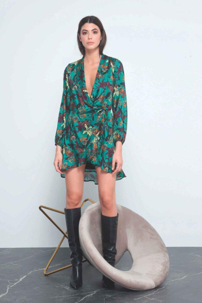 Vestido de la marca QGuapa Milano Verde