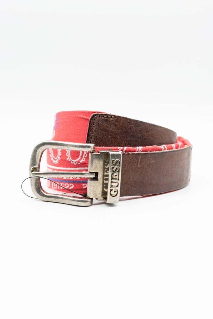 Cinturón de la marca GUESS ACC Rojo
