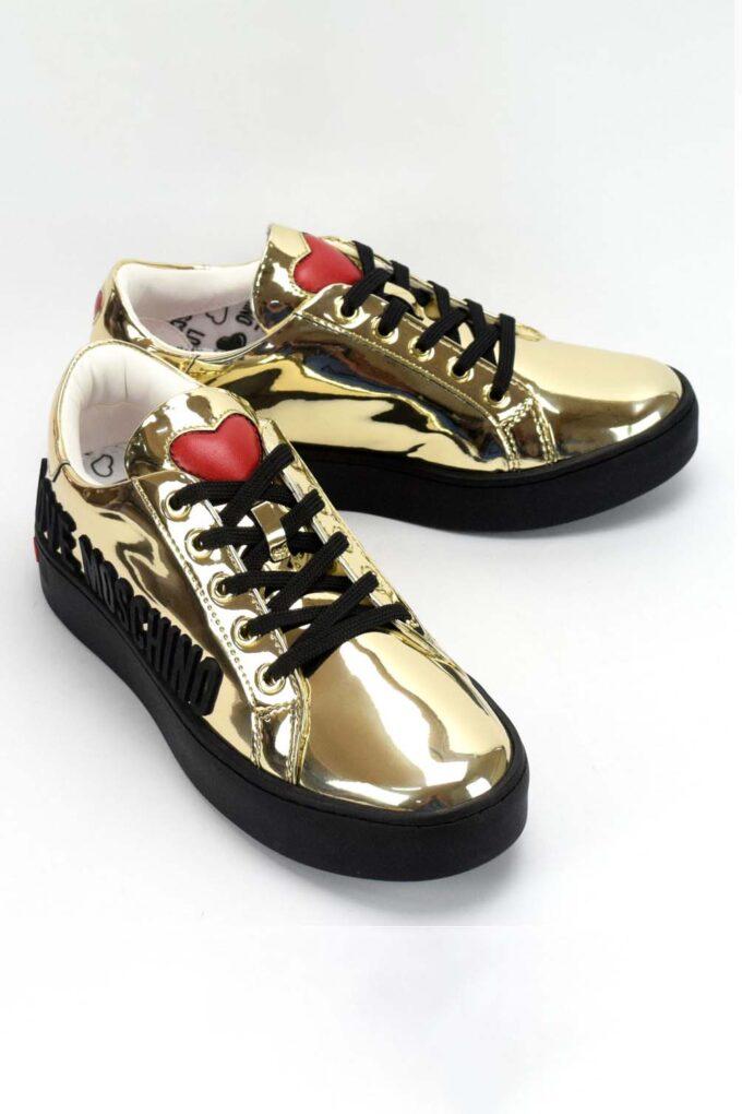 Zapatillas de la marca Love Moschino Dorado