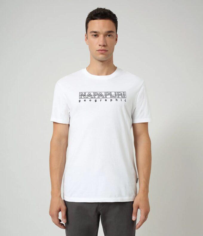 Camiseta de la marca Napapijri Blanco