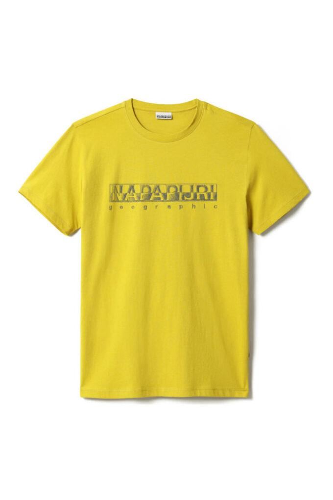 Camiseta de la marca Napapijri Amarillo