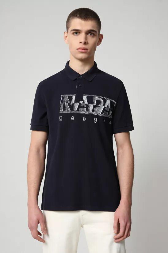 Polo de la marca Napapijri Azul Marino