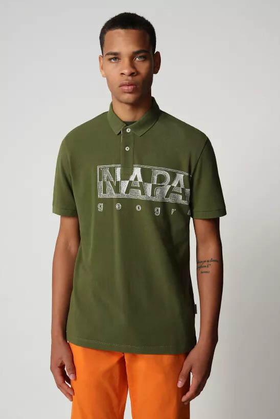 Polo de la marca Napapijri Verde