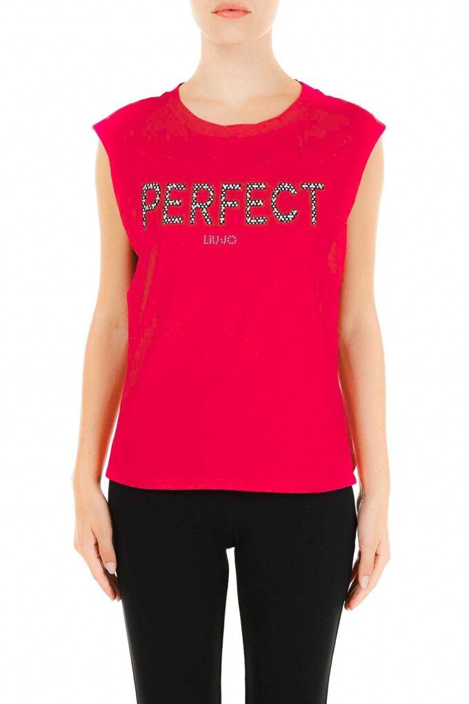 Camiseta de la marca Liu·Jo Rojo