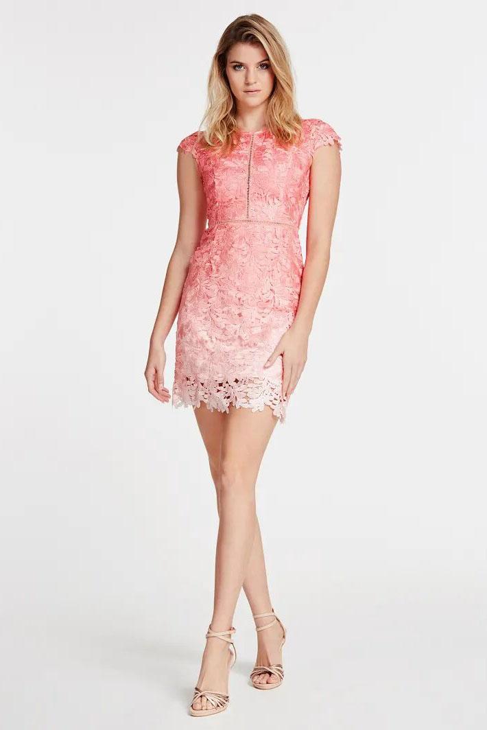 Vestido de la marca Guess Jeans Rosa