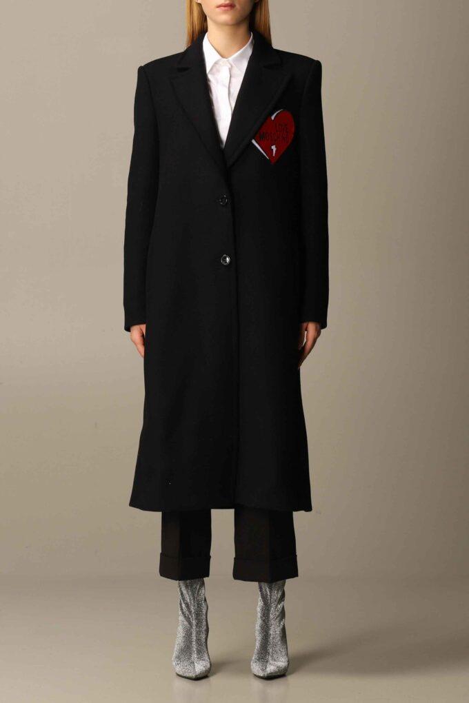 Abrigo de la marca Love Moschino Negro