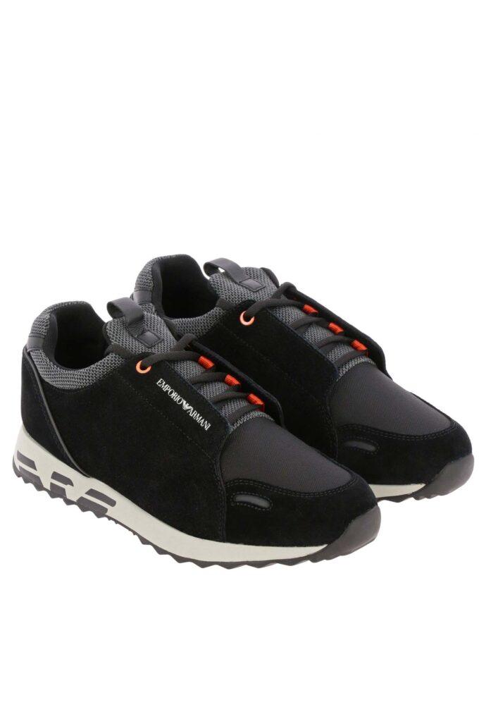 Zapatillas de la marca Emporio Armani Negro