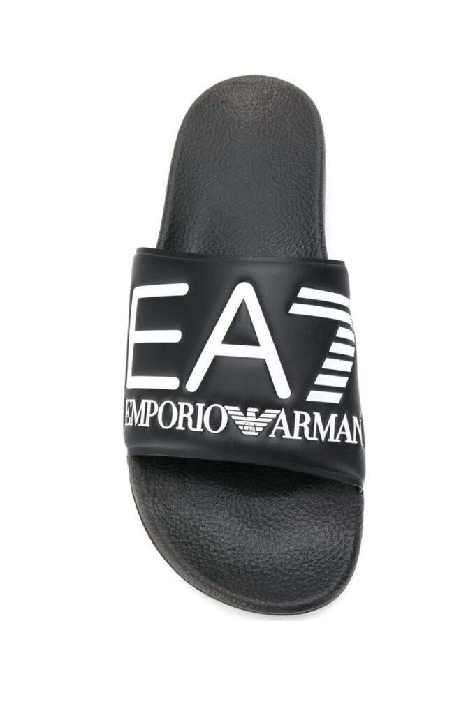 Chanclas de la marca EA7 Negro