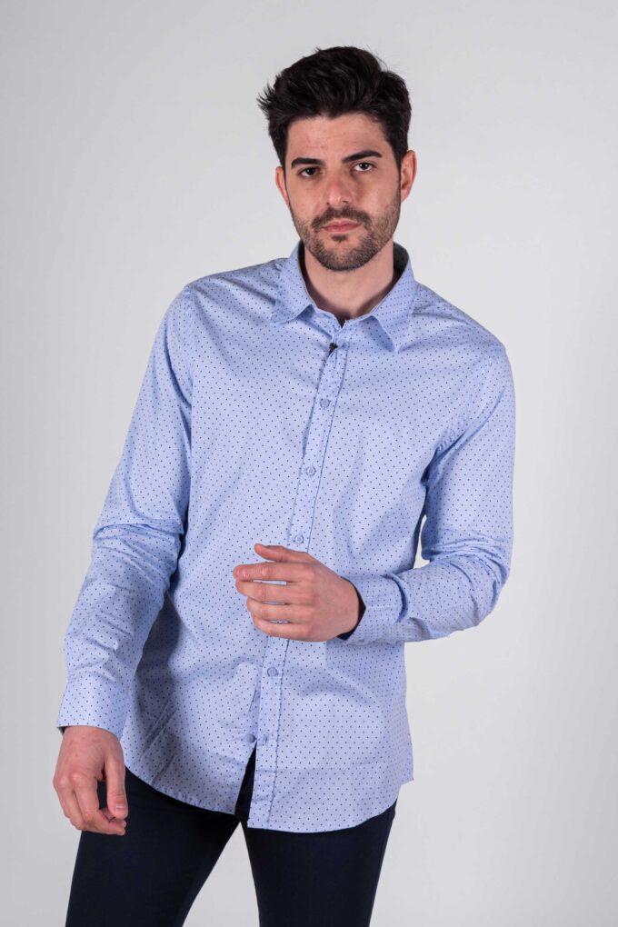 Camisa de la marca Sorbino Azul