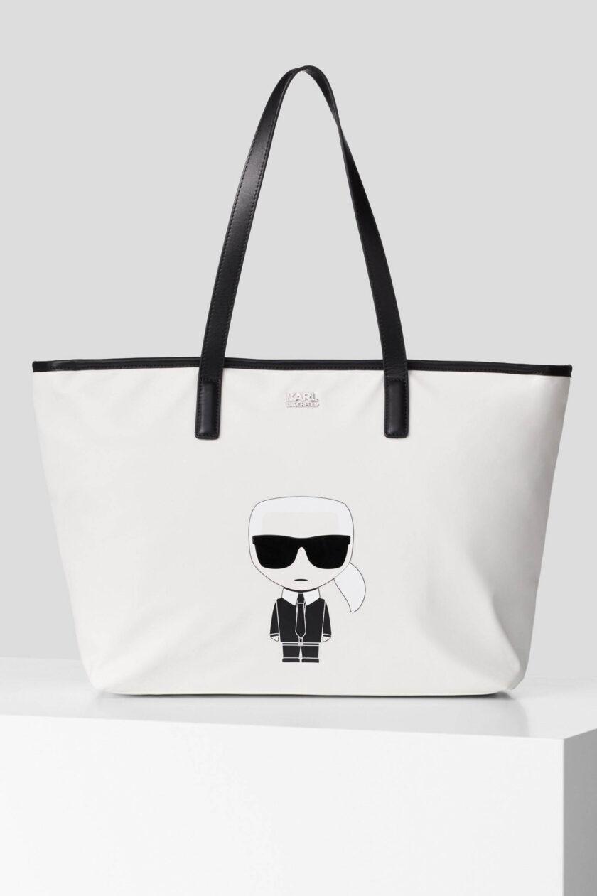 Bolso de la marca Karl Lagerfeld Blanco