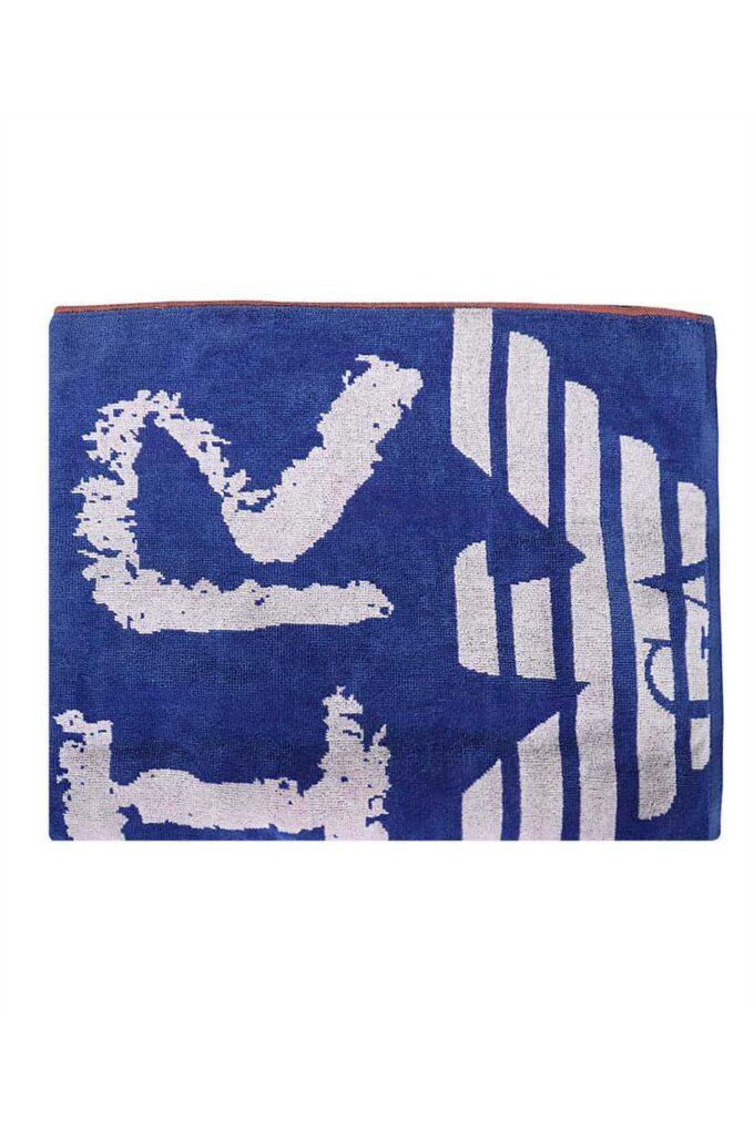 Toalla de la marca EA Underwear Azul