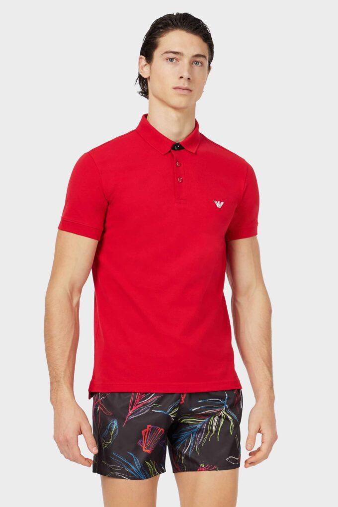 Polo de la marca EA Underwear Rojo