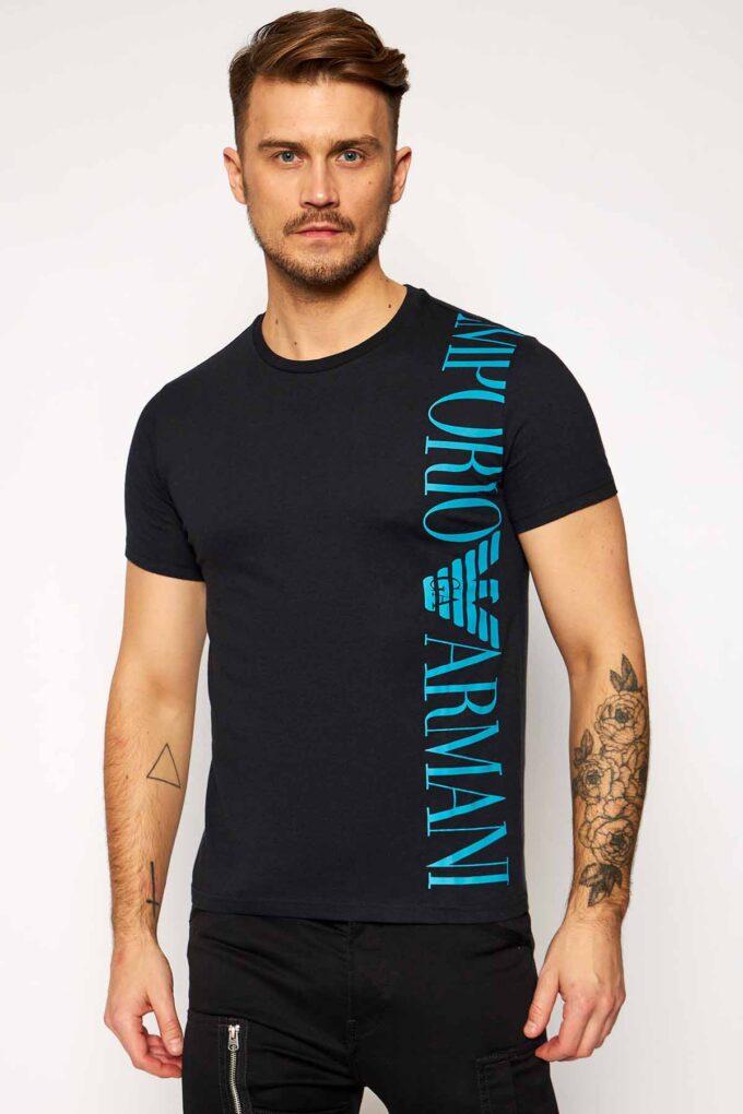 Camiseta de la marca EA Underwear Negro