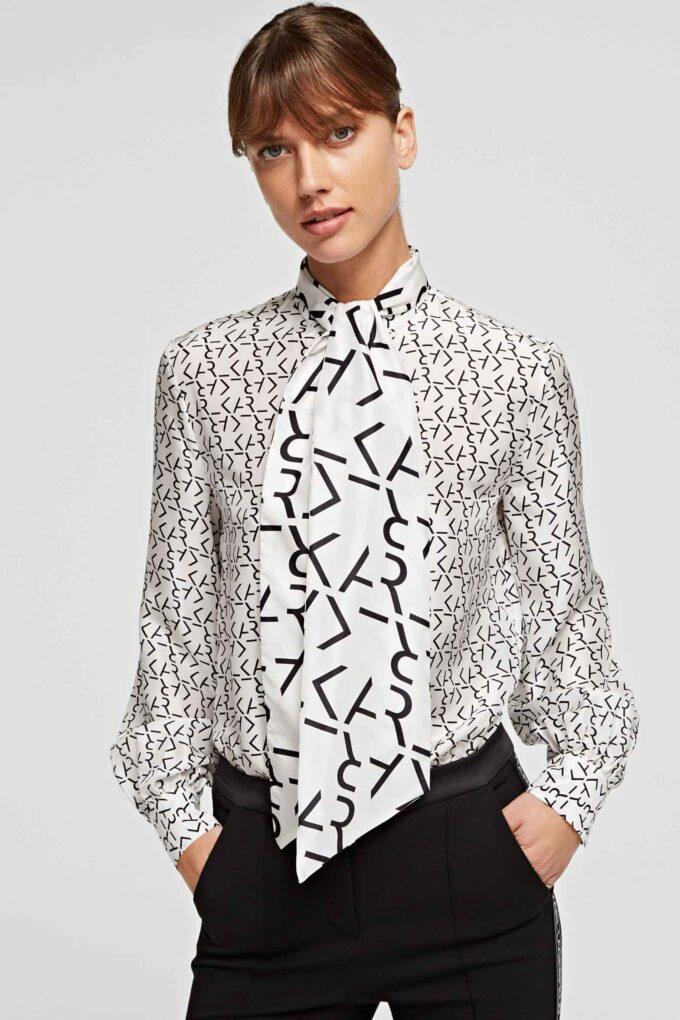 Camisa de la marca Karl Lagerfeld Estampado