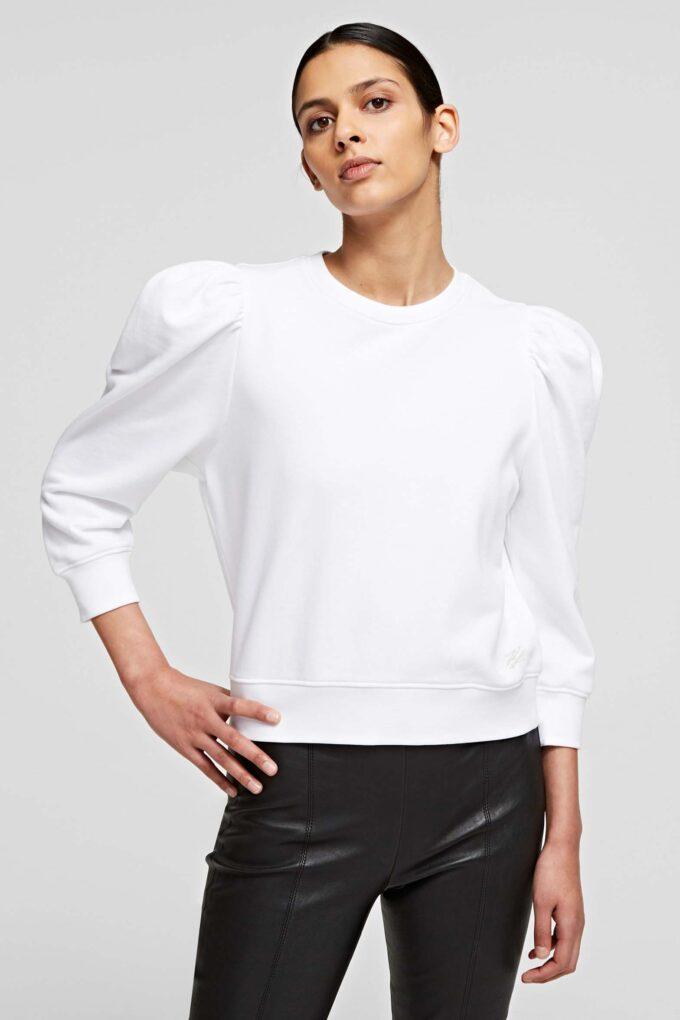 Felpa de la marca Karl Lagerfeld Blanco