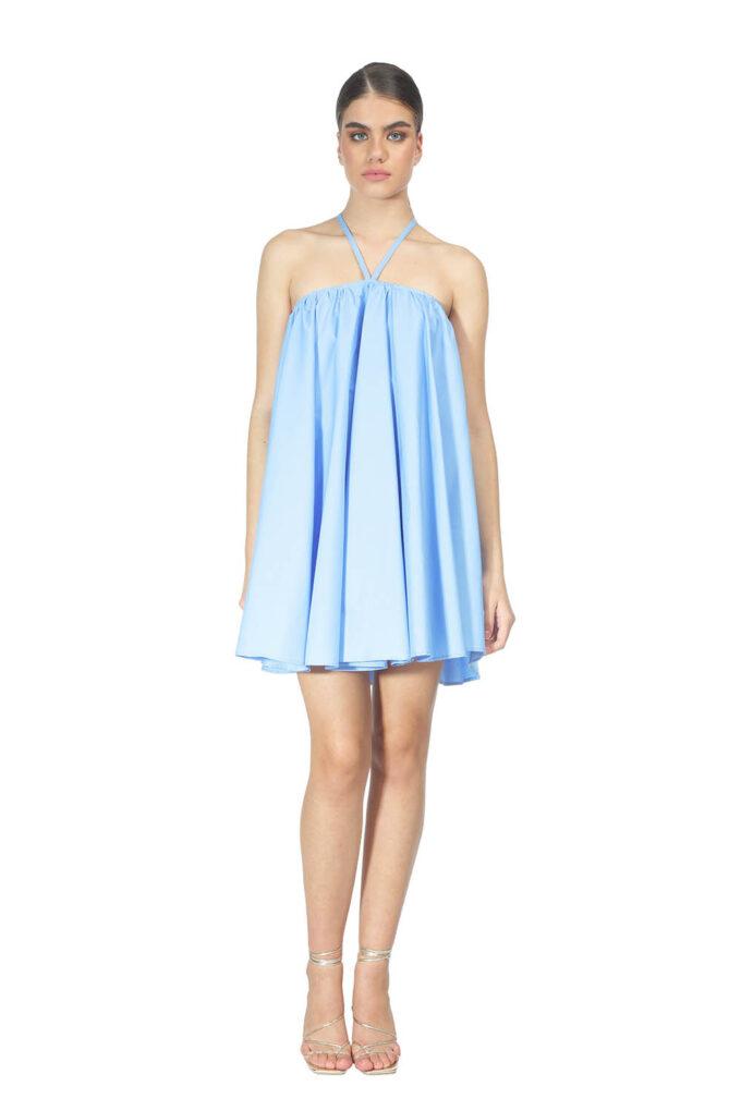 Vestido de la marca QGuapa Milano Azul Cielo