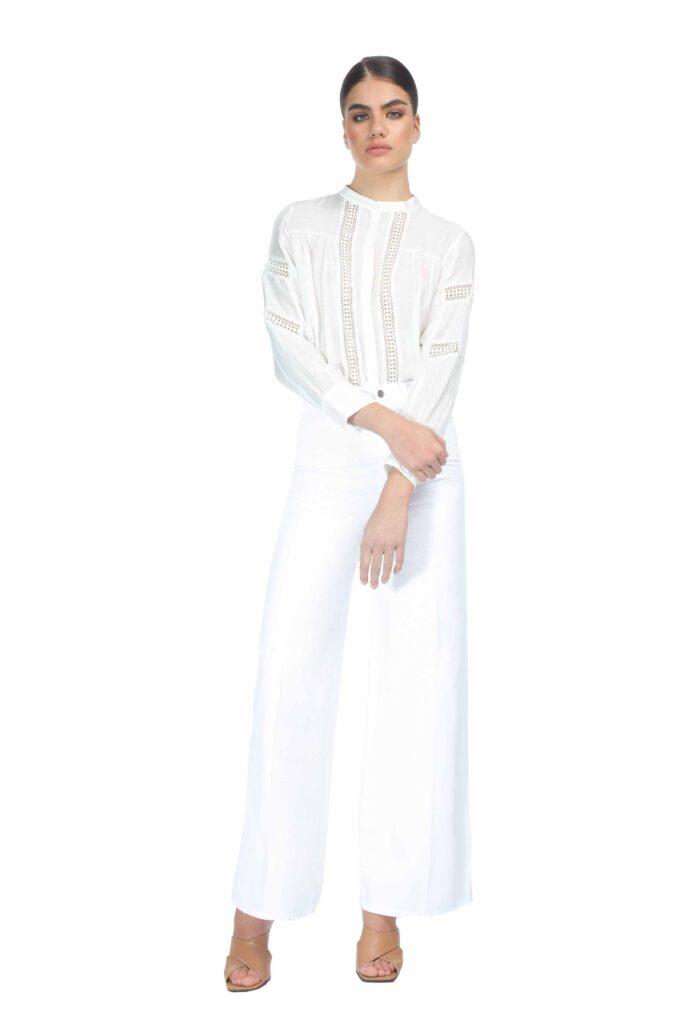 Pantalón de la marca QGuapa Milano Blanco