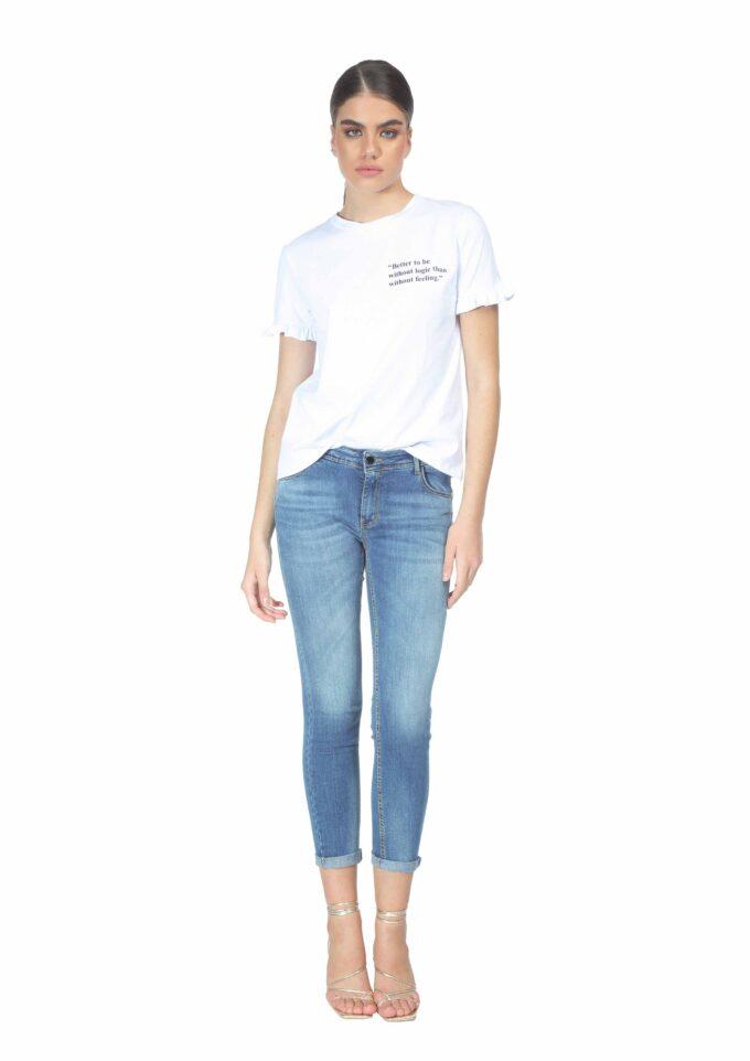 Camiseta de la marca QGuapa Milano Blanco