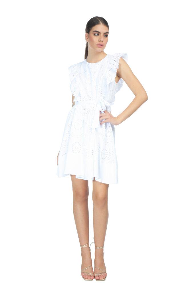 Vestido de la marca QGuapa Milano Blanco