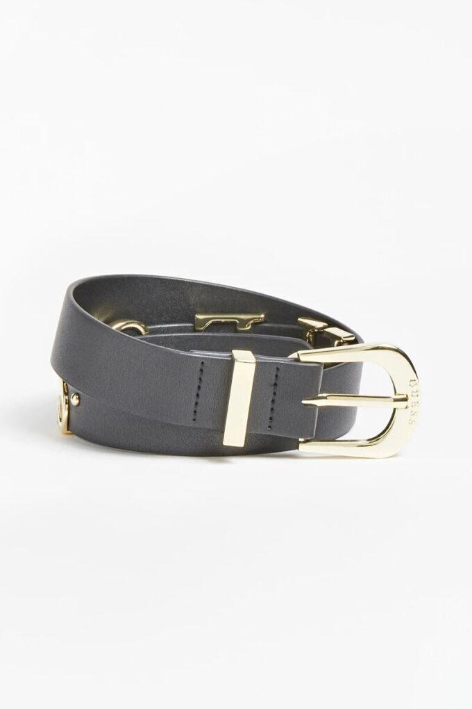 Cinturón de la marca Guess Acc Negro