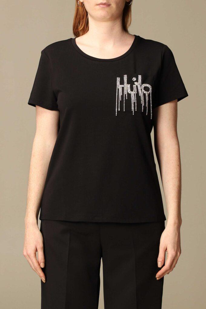 Camiseta de la marca Liu·Jo Negro