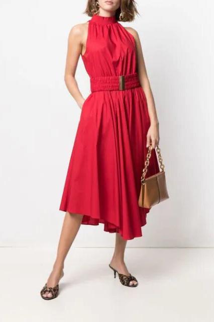 Vestido de la marca Michael Kors Rojo