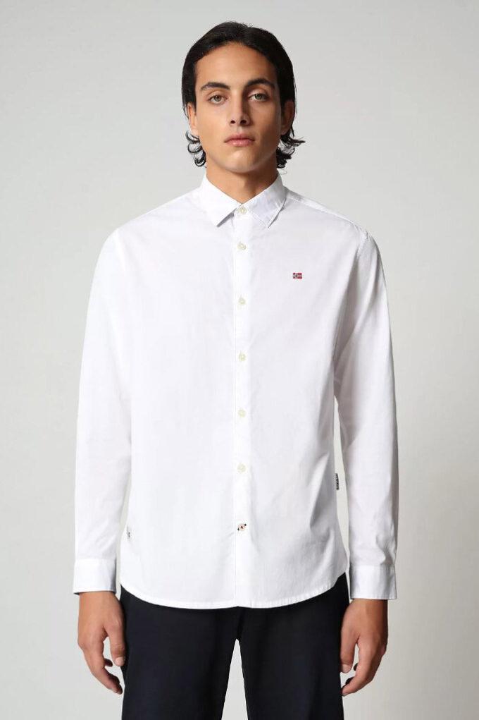 Camisa de la marca Napapijri Blanco