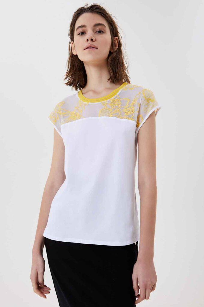 Camiseta de la marca Liu·Jo Blanco