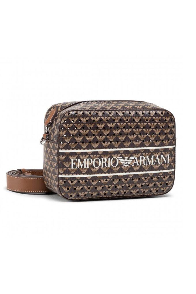 Neceser de la marca Emporio Armani Marrón