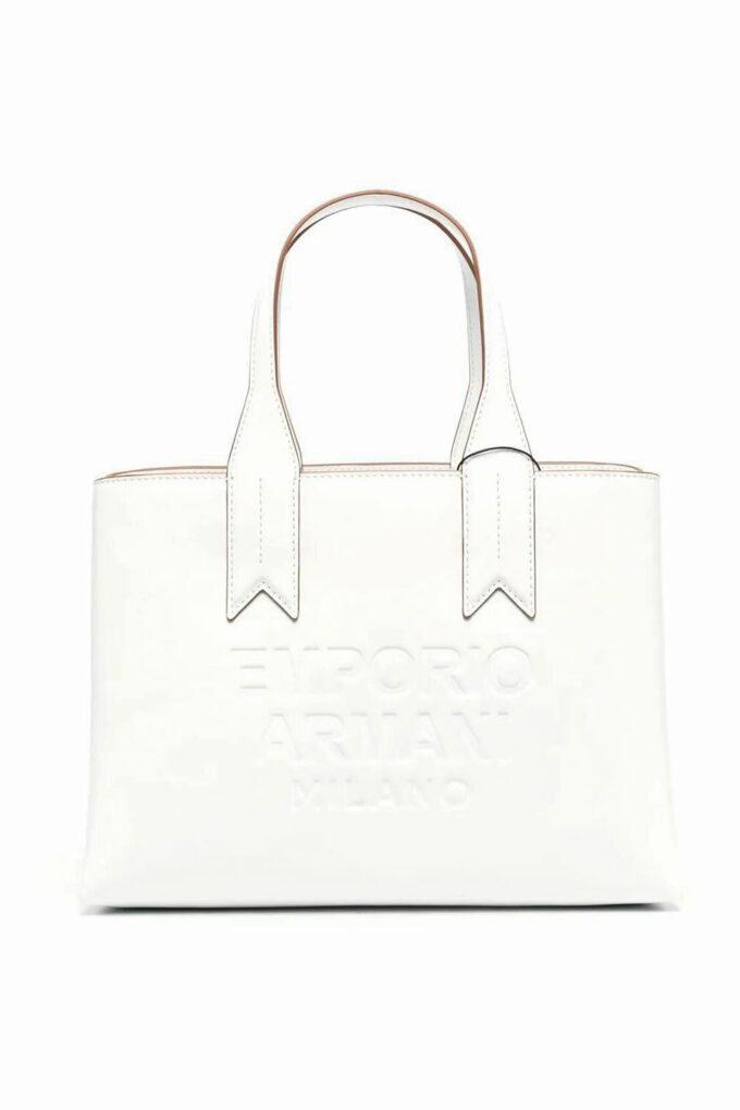 Bolso de la marca Emporio Armani Blanco