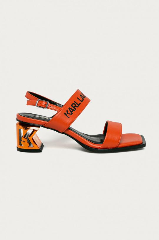 Sandalias de la marca Karl Lagerfeld Naranja