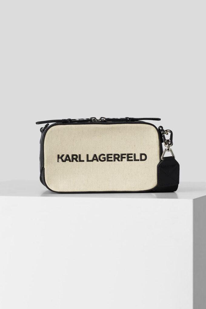 Bandolera de la marca Karl Lagerfeld Beige