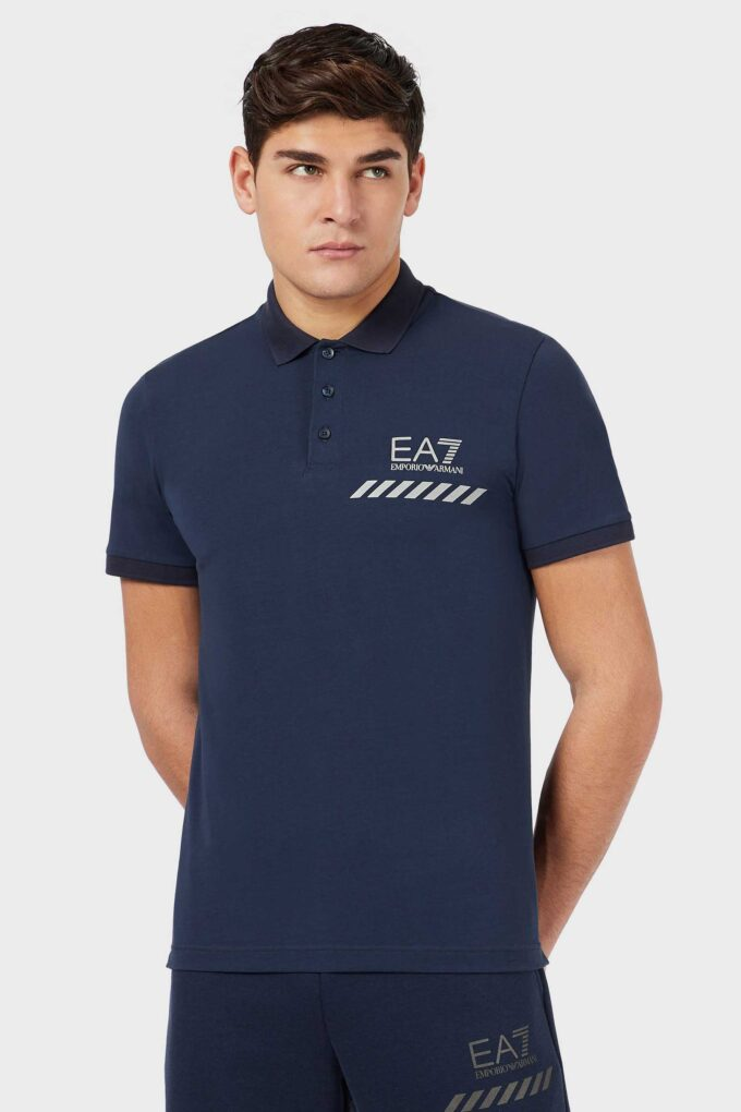 Polo de la marca EA7 Azul Marino