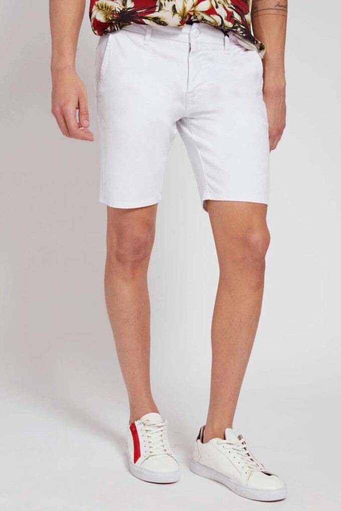 Bermudas de la marca Guess Jeans Blanco