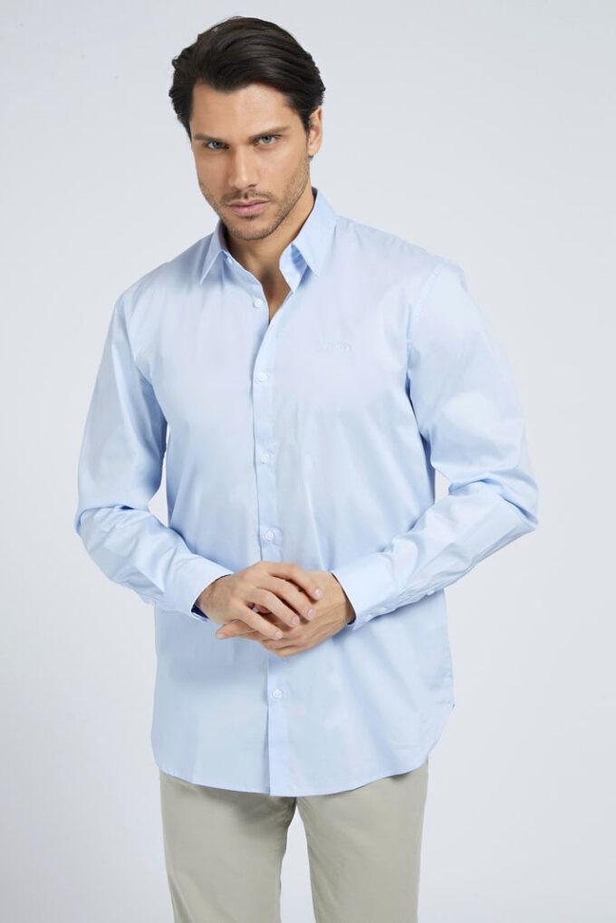 Camisa de la marca Guess Jeans Celeste